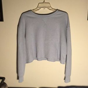 Wild Fable light blue cropped thermal